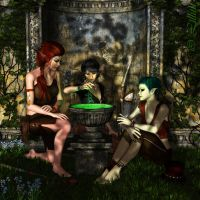 Elves by LillithI