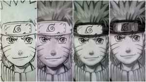 WIP - Naruto 1 by MickeyTheSaviour
