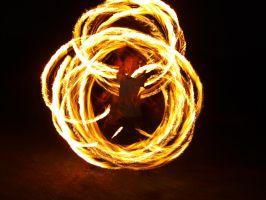 Fire Show 24 by K1ku-Stock
