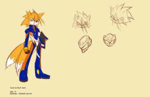 Tails Sketch/Concept by AMO17