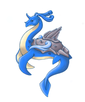 Lapras evolved into Laprius by choimiyabi