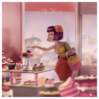 French Bakery by lemomekeke