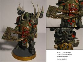 Nurgle Chaos Lord by chaotea