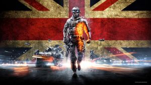 Battlefield 3 Wallpaper UK 1080p by GuMNade