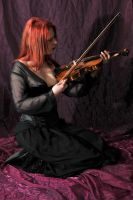 The violinist 10 by Meltys-stock