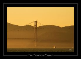 SanFranciscan Sunset by 2Stupid2Duck