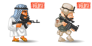 soldiers by cashin