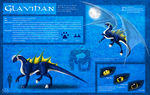 Ref sheet Glavihan by H-brid