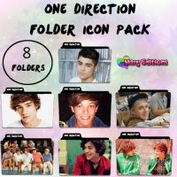 One Direction Folder Icon Pack by LovingSellyGrande