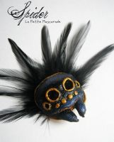 Spider Masquerade Mask by Mikadze