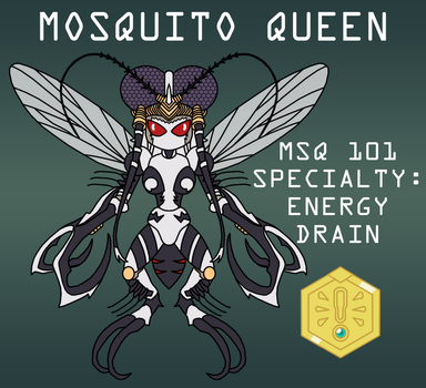 Mosquito Queen Medabot by Death-Driver-5000