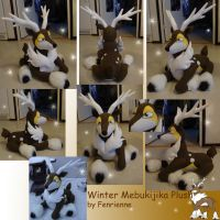 Winter Mebukijika plush by Fenrienne