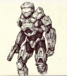 Sletchbook_29_MasterChief by thiago-almeida