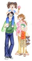 Potter Family by satkela
