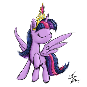 Quick Princess Twilight by SameAsUsual