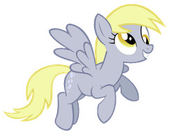 My first animated gif! DERPY! by Brony2447