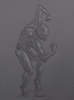 Figure Drawing #55 by AngelGanev