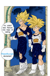 Goku and Gohan time Room by Riseofbungle