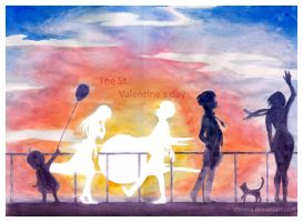 The St. Valentine's day by ChinMa