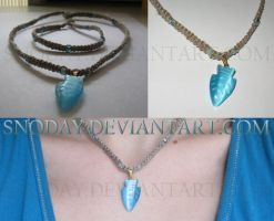 Fish necklace by snoday
