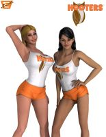 Total Drama Hooters by ImfamousE