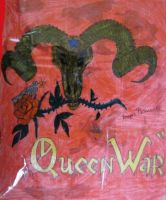 The cover of the novel the Queen War by Dash-Ing-Nerro