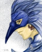 Ravenclaw mask by UnionJacked