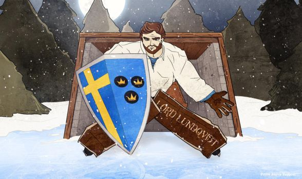 All Hail Lord Lundqvist by aleynarose