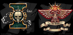 Warhammer 40000 icons by sparrow-chan