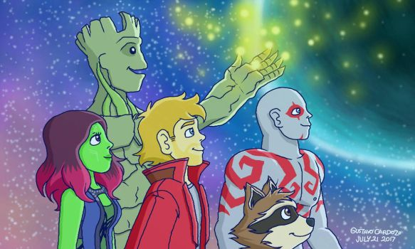 Guardians of the Galaxy by GustavoCardozo97