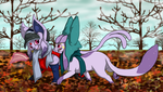 The Last Days of Autumn by Cattensu