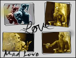 Mad Love in Arkham Asylum by fannychichou