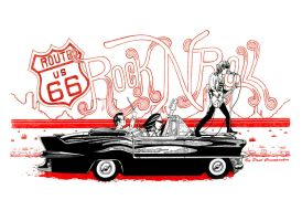 Route 66, Highway to Rock N Roll by Iggy452001