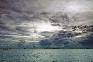 A very dull looking sunset by Shooter1970