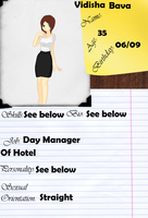 Amabel-Islands  Day Manager by Tortured-Hearts