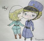 PC - Fem!Finland x Sweden by Veneziano58