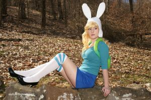 Fionna The Human:  Pinup Adventurer by HarleyTheSirenxoxo