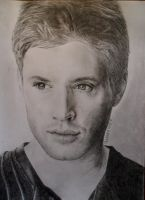 Jensen Ackles. 02 by 1drawingGirl