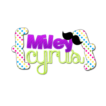 Texto PNG Miley Cyrus by Soyunsetsicocodrilo
