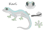 Karl Gecko Reference by Techn0Gecko