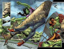 All New Savage SHE-HULK 2 p2 by RexLokus
