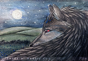 Void ACEO by bladebandit