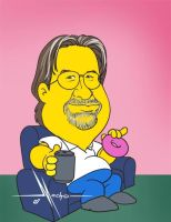 Matt Groening by Mecho