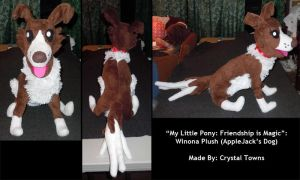 MLP: Winona Plush by katiebobbaseball11