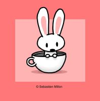 Rabbit in a Teacup by sebreg