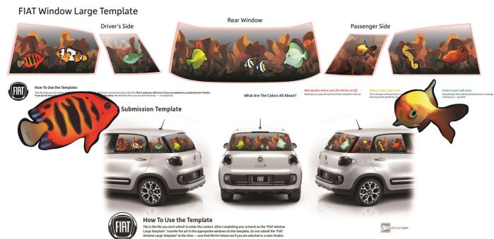 Fishes and a Seahorse: Fiat Contest Submission by ashtoledo