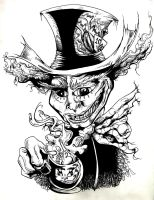 mad hatter by dude-lebowski