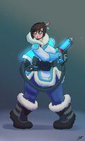 Freeze! Don't Move! [Overwatch] by OddBoy-18