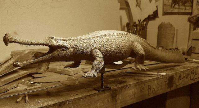 Sarcosuchus imperator 1:15 by GalileoN