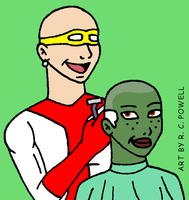 Madame Cueball's Salon - Miss Martian by Rennon-the-Shaved